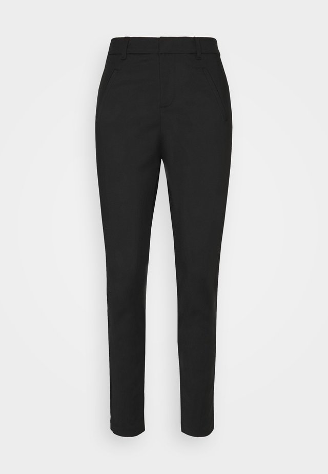 VMVICTORIA ANTIFIT ANKLE PANTS - Bukser - black