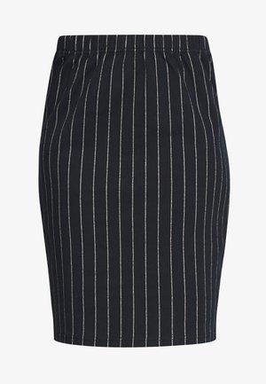 SUZETTE - Pencil skirt - navy