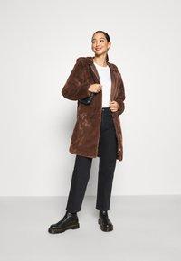 JDY - JDYTIT LONG - Classic coat - pinecone - 1