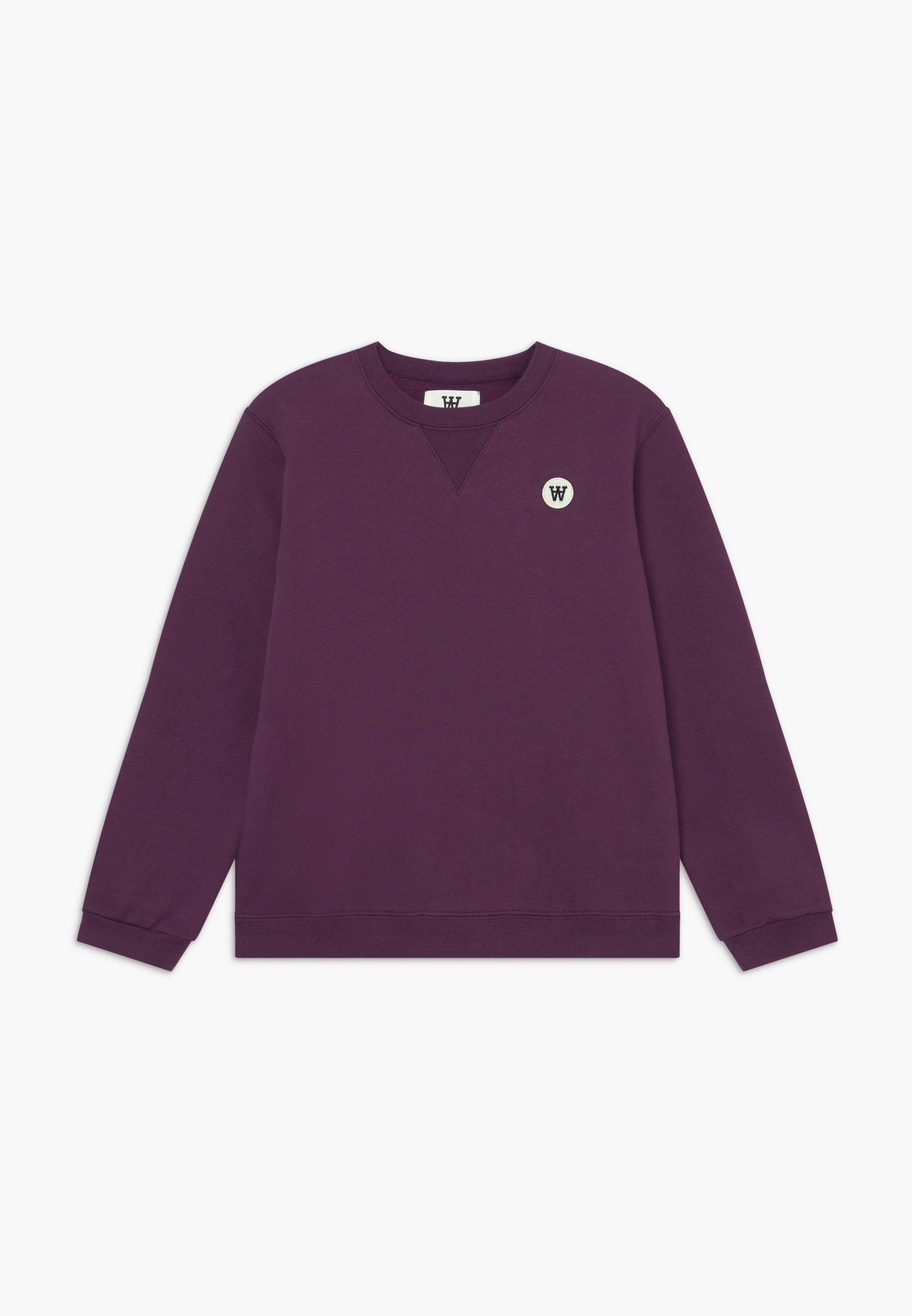 Große Förderung Wood Wood ROD KIDS - Sweatshirt - aubergine | Damenbekleidung 2020