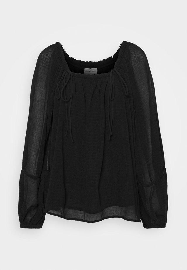 ELODIUM - Long sleeved top - black
