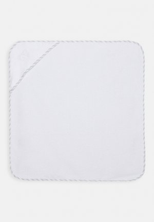 BATH CAPE UNISEX - Ručník - white/grey