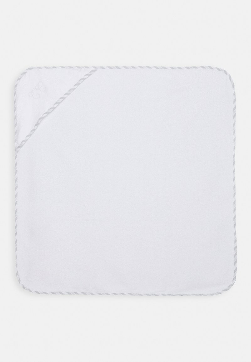 Tartine et Chocolat - BATH CAPE UNISEX - Bath towel - white/grey
