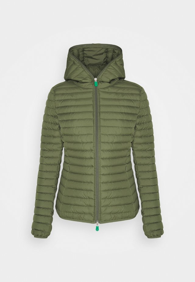 IRIS ALEXIS HOODED JACKET - Winterjas - cactus green