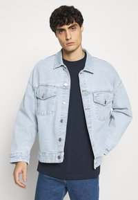 Selected Homme - SLHRELAXCOLMAN O NECK TEE - Basic T-shirt - navy blazer - 3