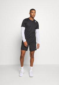 adidas Performance - HEAT.RDY TRAINING SLIM SHORT SLEEVE TEE - T-shirt print - black - 1