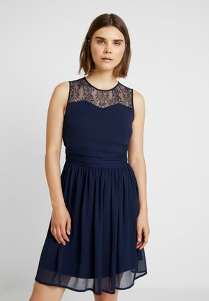 VISABEL DRESS - Cocktail dress / Party dress - navy blazer