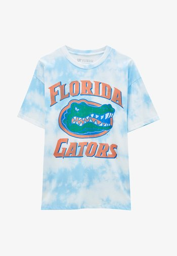 FLORIDA GATORS - Print T-shirt - light blue