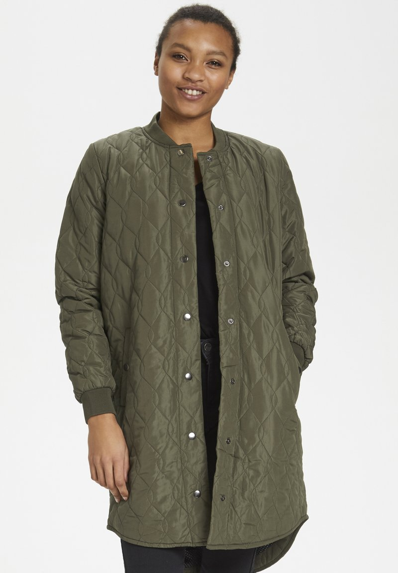 Kaffe - Short coat - grape leaf