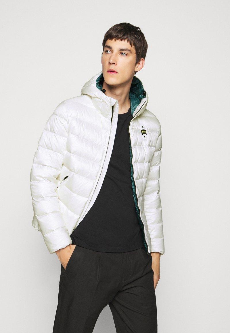 Blauer - GIUBBINI CORTI IMBOTTITO - Down jacket - white