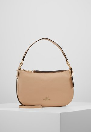 PEBBLE SUTTON CROSSBODY - Håndveske - beechwood