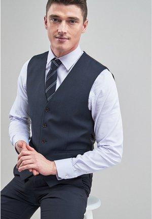 SIGNATURE PLAIN SUIT: WAISTCOAT - Suit waistcoat - dark blue