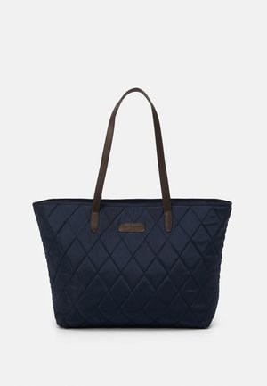WITFORD QUILTED TOTE SET - Handbag - navy