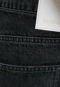 Bershka - Straight leg jeans - black - 5