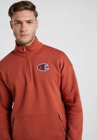 Champion - HALF ZIP - Sweatshirt - dark red - 3