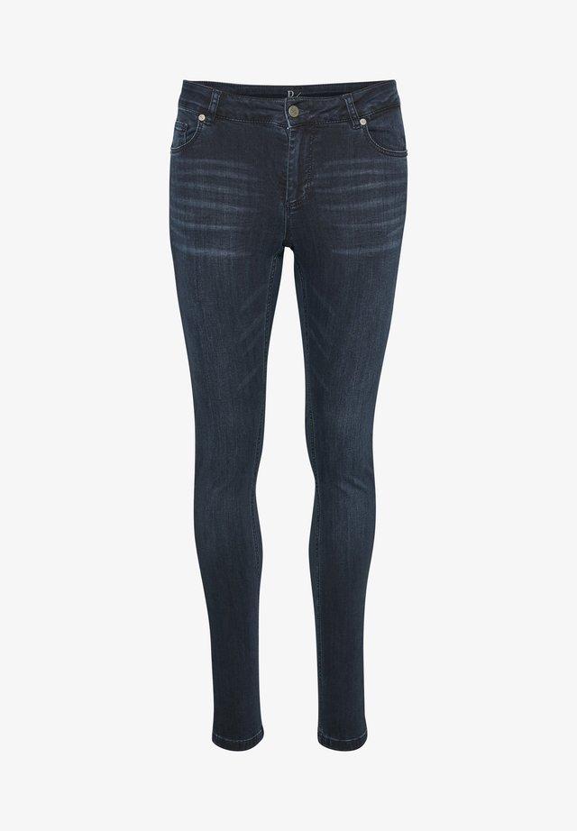 THE CELINA  - Jeans Skinny - dark blue wash