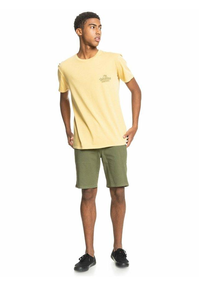 Print T-shirt - rattan