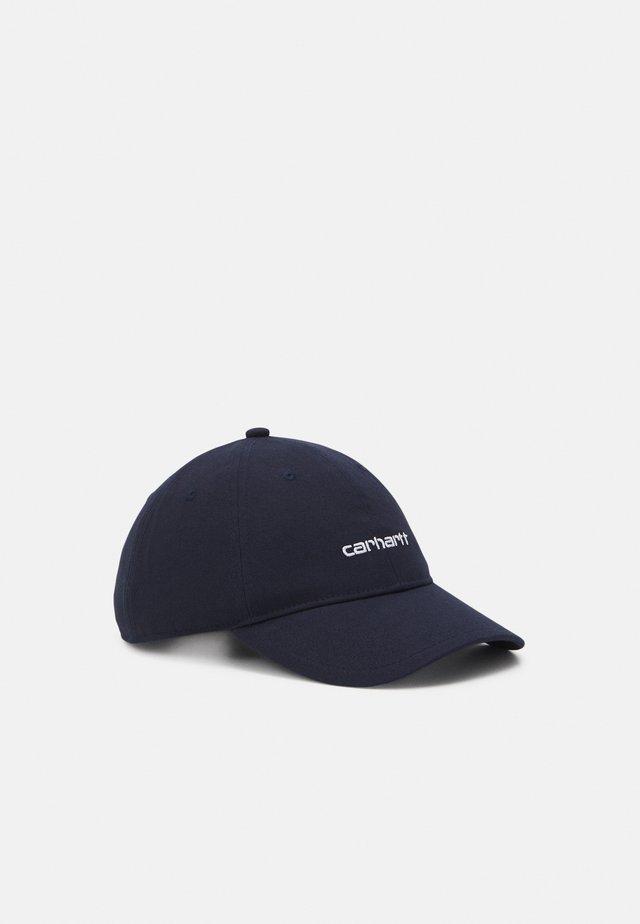 SCRIPT UNISEX - Casquette - dark navy/white