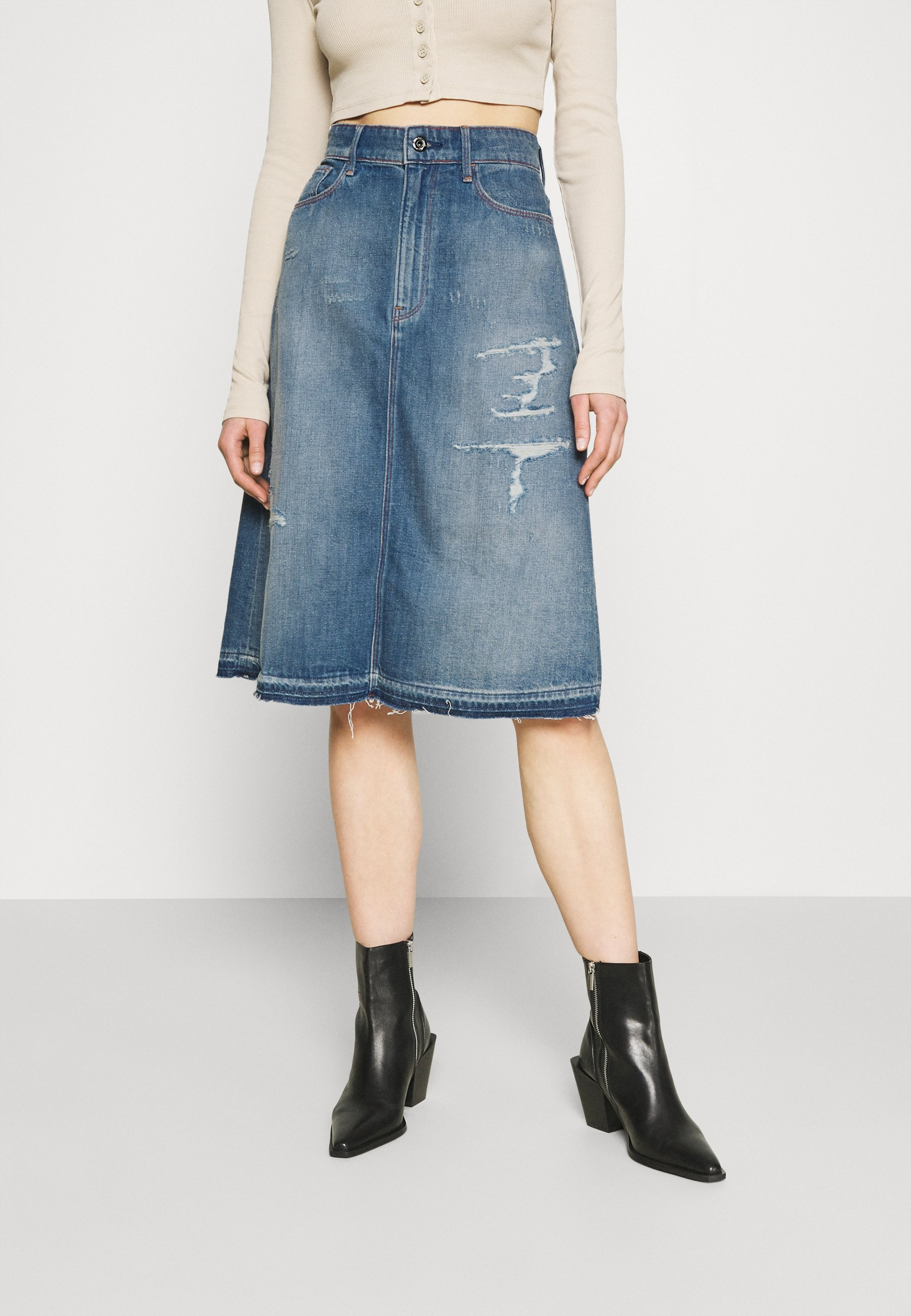 Women ALINE MIDI SKIRT - A-line skirt