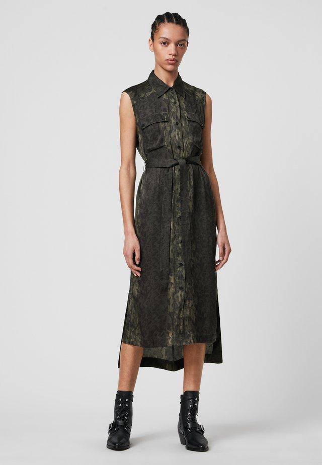 ESTHIE MASALA - Shirt dress - green