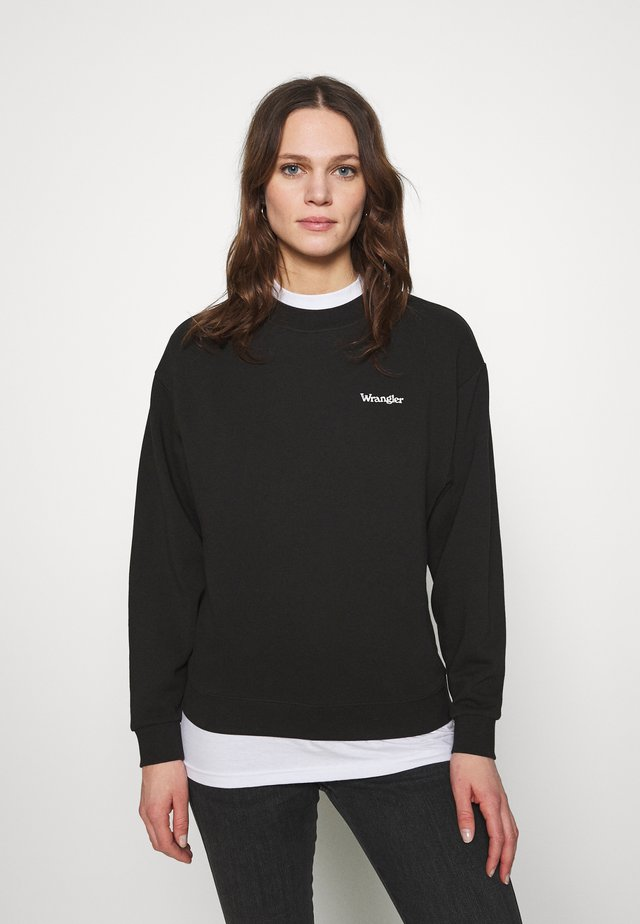 RETRO - Sweatshirt - worn black