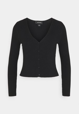 SILJA  - Cardigan - black dark