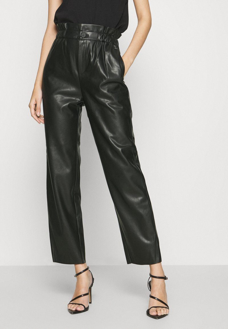 Pepe Jeans - NIKA - Trousers - black