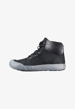 KEEN ELENA MID - WALKING BOOTS - Lace-up ankle boots - black/drizzle