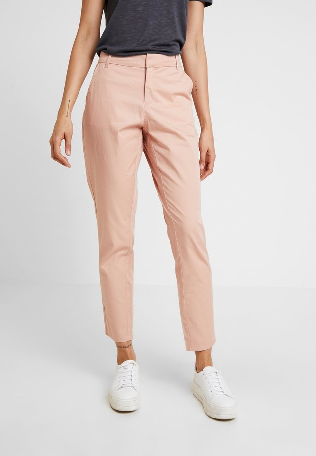 ONLMELLOW PANT - Pantalones chinos - misty rose