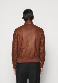 Bally - Kožená bunda - brown - 2