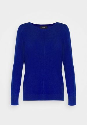 RUCHE STUD SHOULDER JUMPER - Strickpullover - blue