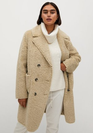 PASTORA - Winter coat - ecru