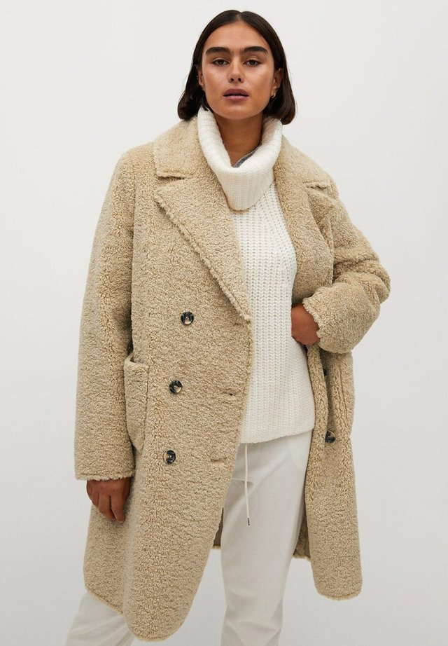 PASTORA - Winter coat - ecru