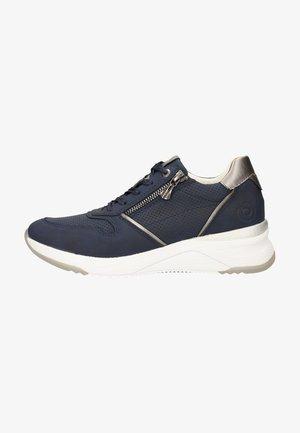 Sneakers laag - dark blue/metallics