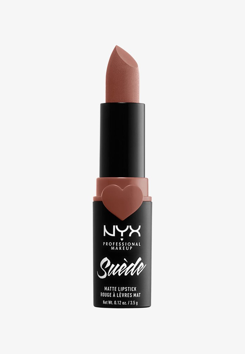 Nyx Professional Makeup - SUEDE MATTE LIPSTICK - Lipstick - 3 rosé the day