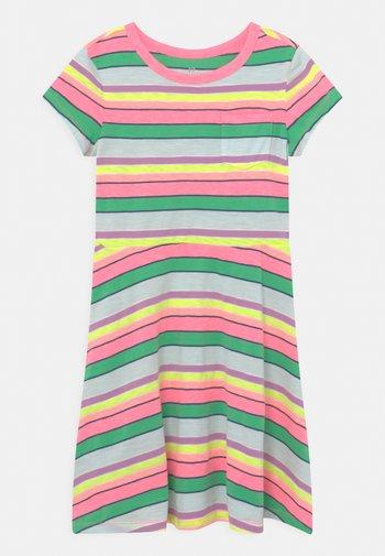 GIRL - Jersey dress - multi
