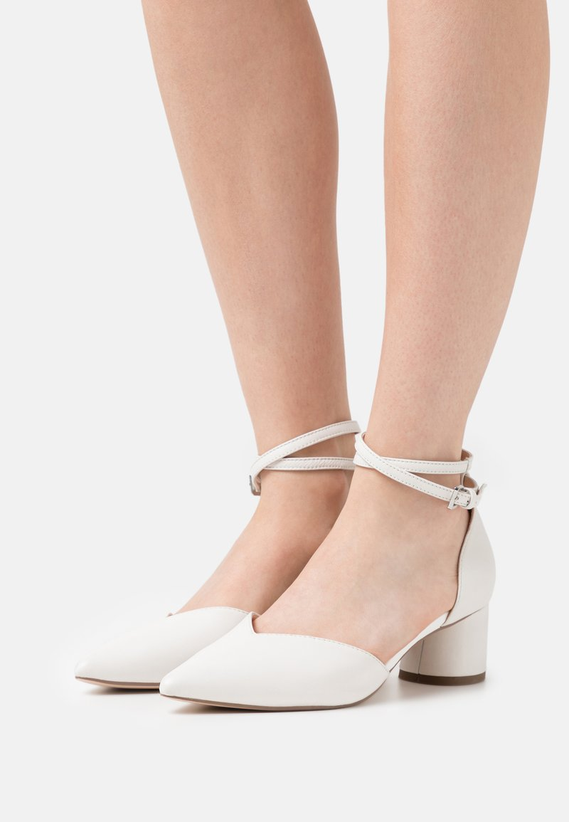 ZIGN Wide Fit - Tacones - white