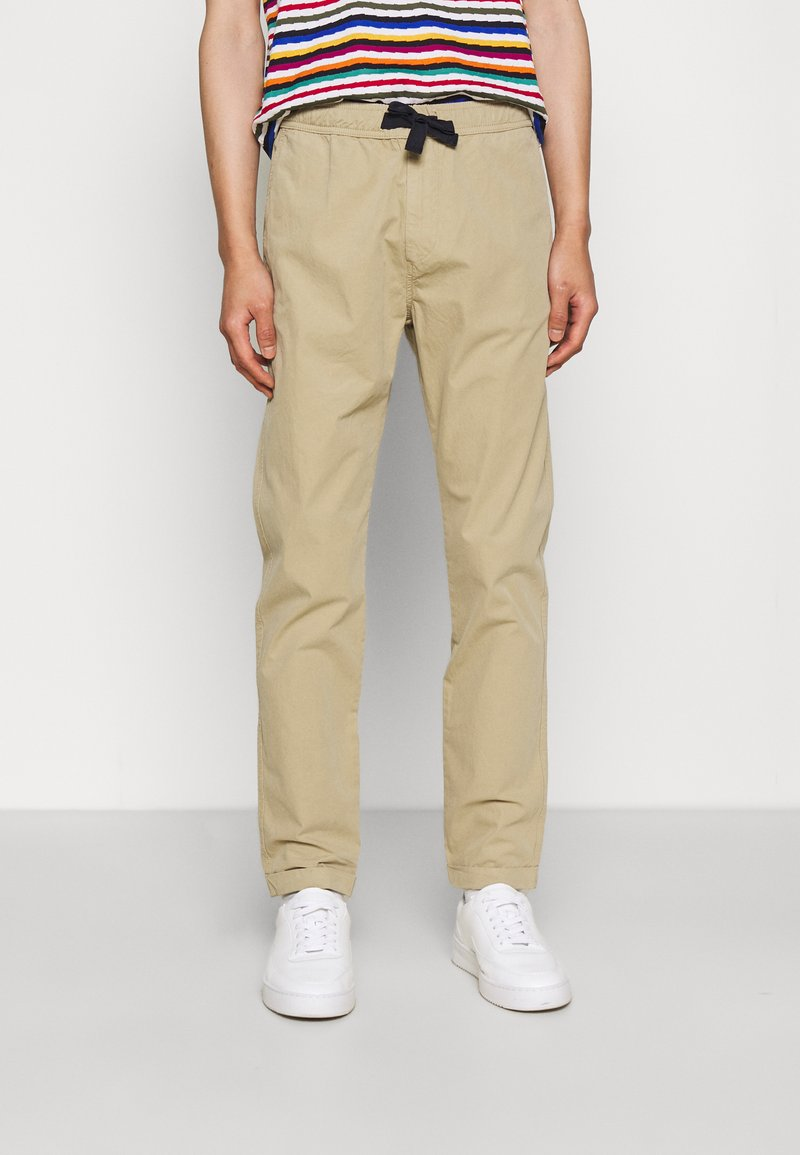 PS Paul Smith - DRAWSTRING TROUSER - Chinos - beige