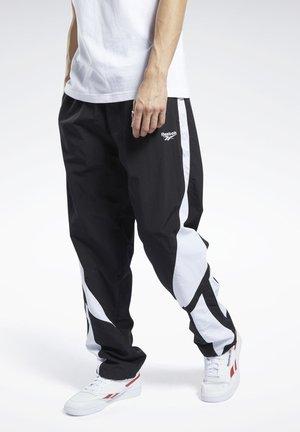 CLASSICS TWIN VECTOR TRACKSUIT BOTTOMS - Pantalones deportivos - black
