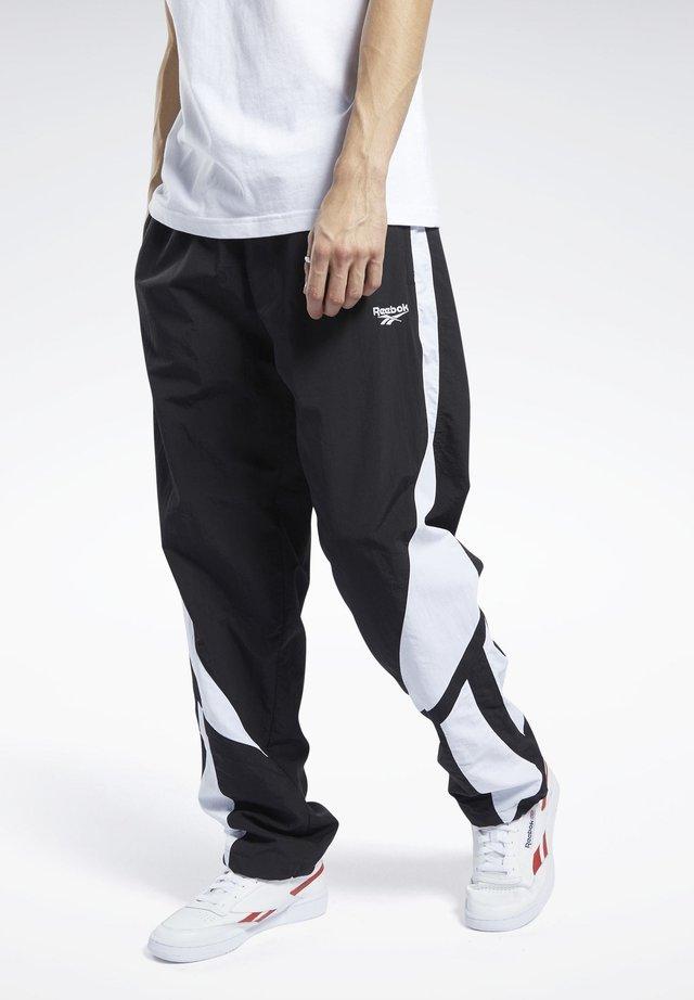 CLASSICS TWIN VECTOR TRACKSUIT BOTTOMS - Pantalon de survêtement - black