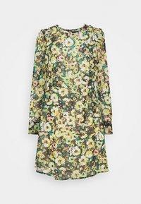 VMNILLA LS SHORT DRESS - Day dress - parasailing/nilla
