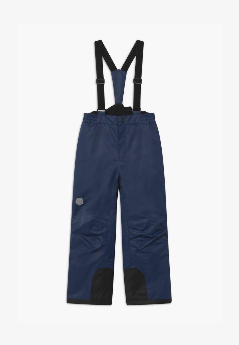 Color Kids - UNISEX - Spodnie narciarskie - dress blues