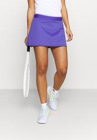 adidas Performance - CLUB SKIRT - Sports skirt - purple/white - 2