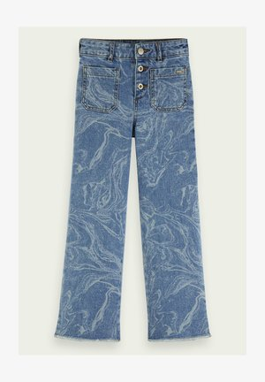 MARBLED  - Flared Jeans - combo m