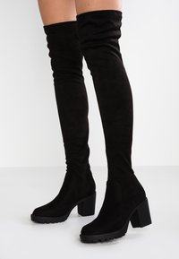 ONLY SHOES - ONLBARBARA LONG SHAFT - Over-the-knee boots - black - 0