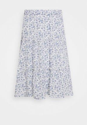 BSYLIA - Áčková sukně - snow white