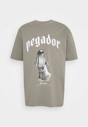 NAJA TEE - Print T-shirt - washed frost gray