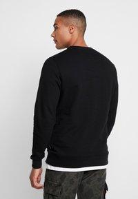 Vans - CLASSIC CREW - Sweatshirt - black/white - 2