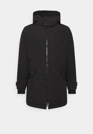 LINED - Winter coat - black