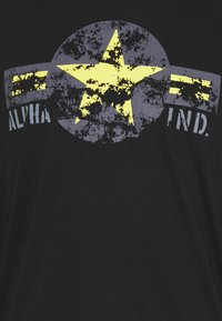 Alpha Industries - USAF - Long sleeved top - black/yellow - 2